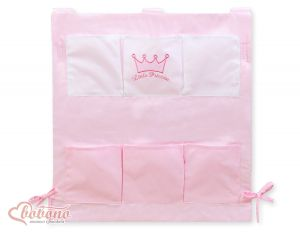 Cot tidy- Little Prince/Princess pink
