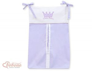 Diaper bag- Little Prince/Princess lilac