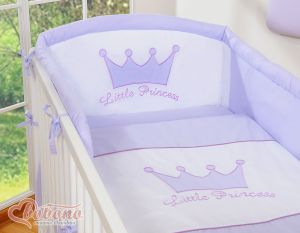 Bedding set 3pcs- Little Prince/Princess lilac