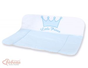 Soft changing mat- Little Prince/Princess blue