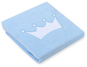 Polar fleece blanket- Little Prince/Princess blue