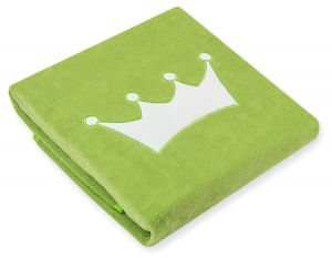 Polar fleece blanket- Little Prince/Princess green