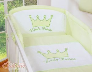 Bedding set 3pcs- Little Prince/Princess green