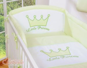 Universal bumper- Little Prince/Princess green