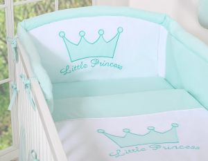 Universal bumper- Little Prince/Princess mint