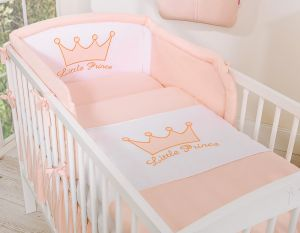 Bedding set 2-pcs- Little Prince/Princess pink