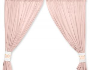 Curtains for baby room- Little Prince/Princess  powder pink