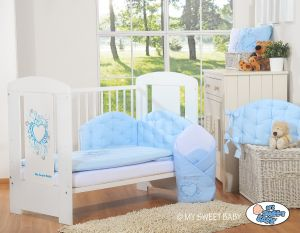 Bedding set 3-pcs- Chic light blue