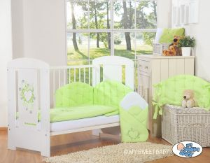 Bedding set 3-pcs- Chic green