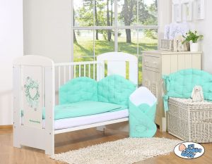 Bedding set 3-pcs- Chic mint