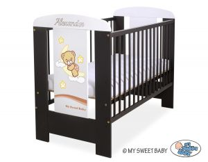 Engrave on the front of baby cot no 5009-04