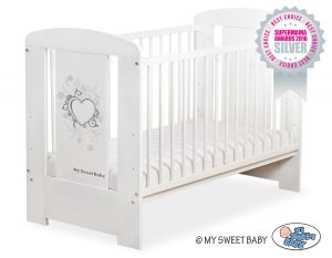 Baby cot 120x60cm Chic no. 5010-07-1