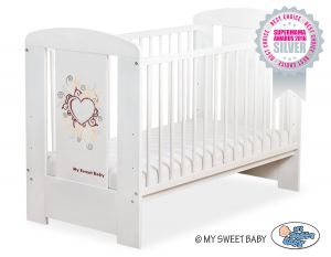 Baby cot 120x60cm Chic no. 5010-07-2