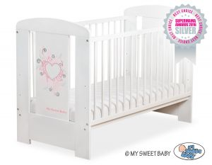 Baby cot 120x60cm Chic no. 5010-07-3