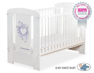 Baby cot 120x60cm Chic no. 5010-07-6