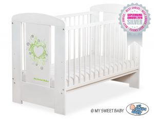 Baby cot 120x60cm Chic no. 5010-07-7