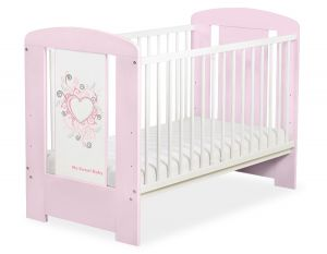 Baby cot 120x60cm Chic no. 5010-08-3