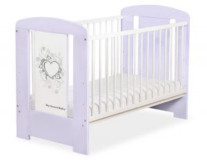 Baby cot 120x60cm Chic no. 5010-09-1