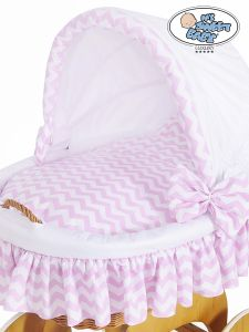 Cover set 4 pcs for Wicker crib Hannah no. 50102-901* or 70102-901*