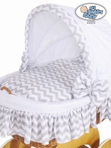 Cover set 4 pcs for Wicker crib Hannah no. 50102-902* or 70102-902*