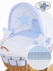 Cover set 4 pcs for Wicker crib Isabella no. 50102-909* or 70102-909*
