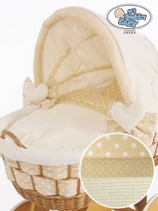 Cover set 4 pcs for Wicker crib Isabella no. 50102-910* or 70102-910*