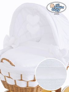 Cover set 4 pcs for Wicker crib Bianca no. 50102-911* or 70102-911*