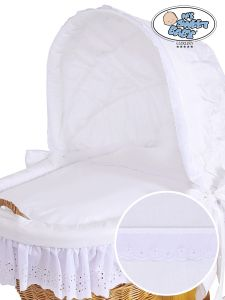 Cover set 4 pcs for Moses Basket/Wicker crib Sophia no. 50102-912 or 70102-912
