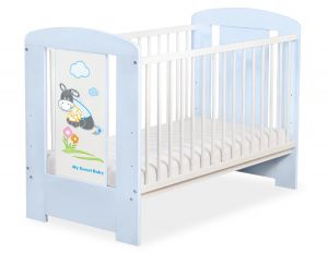 Baby cot 120x60cm Donkey Luca no. 5011-03-815