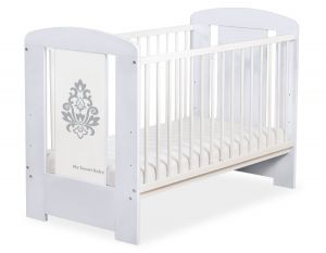 Baby cot 120x60cm Glamour no. 5015-06-1