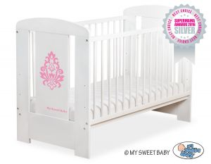 Baby cot 120x60cm Glamour no. 5015-07-2