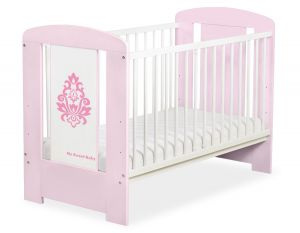 Baby cot 120x60cm Glamour no. 5015-08-2
