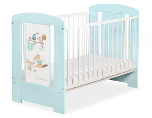 Baby cot 120x60cm Friends no. 5019-02-672