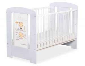 Baby cot 120x60cm Sweet bears no. 5019-06-669