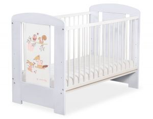 Baby cot 120x60cm Friends no. 5019-06-670