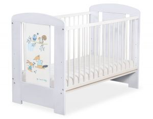 Baby cot 120x60cm Friends no. 5019-06-671