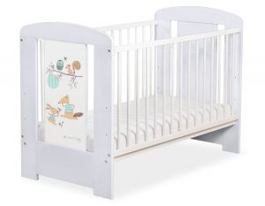 Baby cot 120x60cm Friends no. 5019-06-672