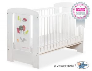 Baby cot 120x60cm Secret forest no. 5019-07-663
