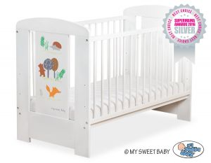 Baby cot 120x60cm Secret forest no. 5019-07-664