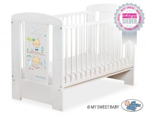 Baby cot 120x60cm Sweet bears no. 5019-07-667