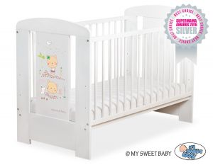 Baby cot 120x60cm Sweet bears no. 5019-07-668