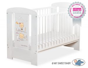 Baby cot 120x60cm Sweet bears no. 5019-07-669