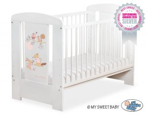 Baby cot 120x60cm Friends no. 5019-07-670
