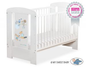 Baby cot 120x60cm Friends no. 5019-07-671