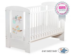 Baby cot 120x60cm Friends no. 5019-07-672