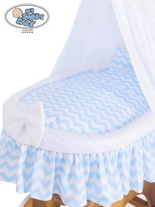 Cover set 4 pcs for Wicker crib no. 50202-900* or 70202-900*