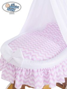 Cover set 4 pcs for Wicker crib no. 50202-901* or 70202-901*