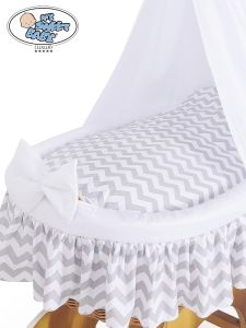 Cover set 4 pcs for Wicker crib no. 50202-902* or 70202-902*