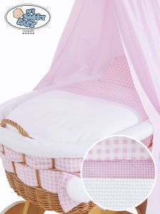 Cover set 4 pcs for Wicker crib Isabella no. 50202-908* or 70202-908*