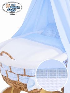 Cover set 4 pcs for Wicker crib Isabella no. 50202-909* or 70202-909*